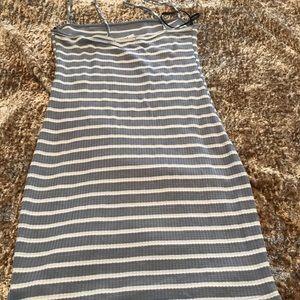 Form fitting sun dress
